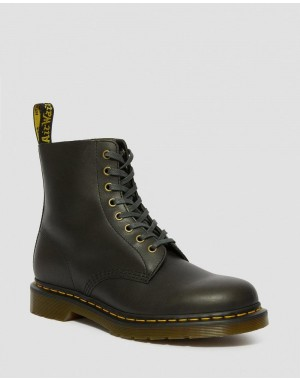 Black Friday Sale Dr. Martens 1460 PASCAL CLASSICO LEATHER LACE UP BOOTS - CLOVE CLASSICO CLASSICO