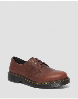 1461 AMBASSADOR LEATHER OXFORD SHOES - CASK AMBASSADOR