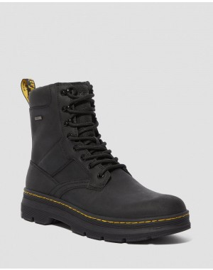 Dr.Martens IOWA WATERPROOF POLY CASUAL BOOTS - BLACK REPUBLIC+EXTRA TOUGH NYLON - Sale