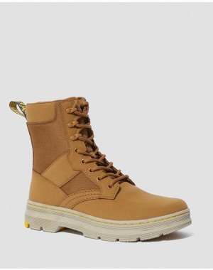 Black Friday Sale Dr. Martens IOWA EXTRA TOUGH POLY CASUAL BOOTS - OAK