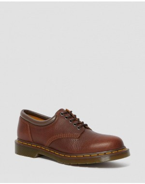 Black Friday Sale Dr. Martens 8053 HARVEST LEATHER CASUAL SHOES - TAN HARVEST