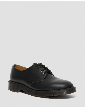 Dr.Martens SMITHS VINTAGE SMOOTH LEATHER DRESS SHOES - Black VINTAGE SMOOTH - Sale