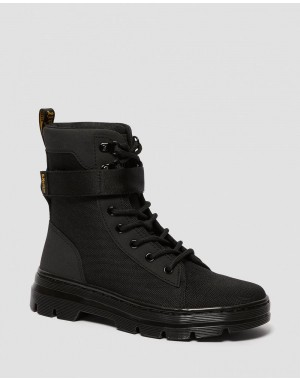 Black Friday Sale Dr. Martens COMBS TECH WOMEN'S EXTRA TOUGH CASUAL BOOTS - BLACK EXTRA TOUGH POLY+AJAX