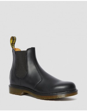 Dr.Martens 2976 SMOOTH LEATHER CHELSEA BOOTS - BLACK SMOOTH - Sale