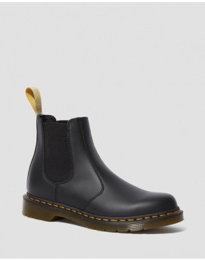 Black Friday Sale Dr. Martens VEGAN 2976 FELIX CHELSEA BOOTS - BLACK FELIX RUB OFF