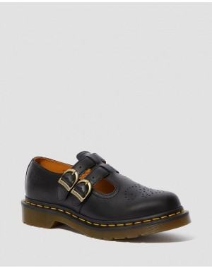 Dr.Martens 8065 SMOOTH LEATHER MARY JANE SHOES - BLACK SMOOTH - Sale