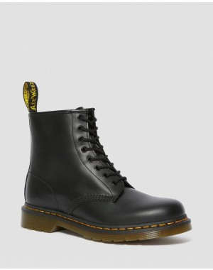 Dr.Martens 1460 SMOOTH LEATHER LACE UP BOOTS - BLACK SMOOTH - Sale