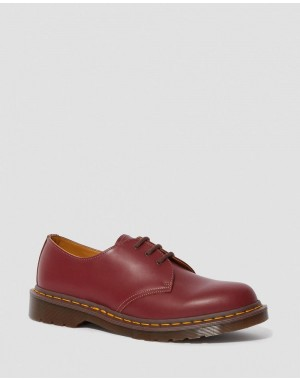 Black Friday Sale Dr. Martens 1461 VINTAGE MADE IN ENGLAND OXFORD SHOES - OXBLOOD QUILON
