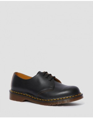 Dr.Martens 1461 VINTAGE MADE IN ENGLAND OXFORD SHOES - BLACK QUILON - Sale