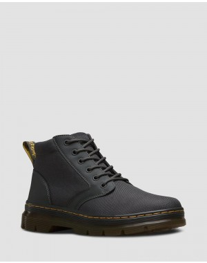 Dr.Martens BONNY POLY CASUAL BOOTS - CHARCOAL EXTRA TOUGH POLY+RUBBERY - Sale