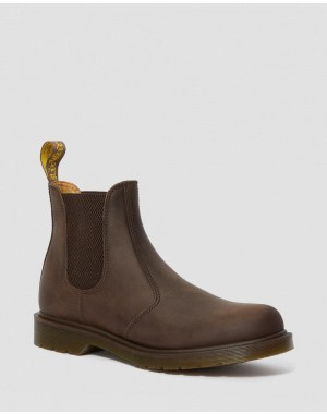 2976 CRAZY HORSE LEATHER CHELSEA BOOTS - GAUCHO CRAZY HORSE