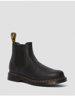 Black Friday Sale Dr. Martens 2976 AMBASSADOR LEATHER CHELSEA BOOTS - BLACK AMBASSADOR