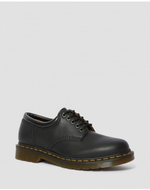 Black Friday Sale Dr. Martens 8053 NAPPA LEATHER CASUAL SHOES - BLACK NAPPA