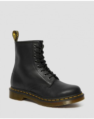 Dr.Martens 1460 WOMEN'S NAPPA LEATHER LACE UP BOOTS - BLACK NAPPA - Sale
