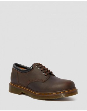 Black Friday Sale Dr. Martens 8053 CRAZY HORSE LEATHER CASUAL SHOES - GAUCHO CRAZY HORSE