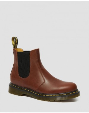 Black Friday Sale Dr. Martens 2976 CLASSICO LEATHER CHELSEA BOOTS - BROWN CLASSICO