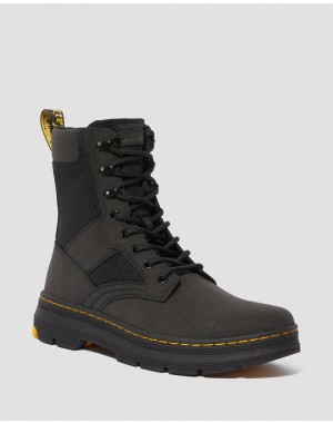Black Friday Sale Dr. Martens IOWA EXTRA TOUGH POLY CASUAL BOOTS - BLACK