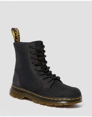 JUNIOR COMBS EXTRA TOUGH POLY CASUAL BOOTS - BLACK EXTRA TOUGH POLY+RUBBERY