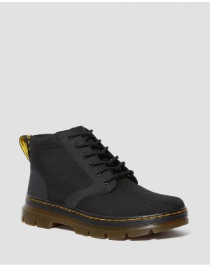 Dr.Martens BONNY POLY CASUAL BOOTS - BLACK EXTRA TOUGH POLY+RUBBERY - Sale