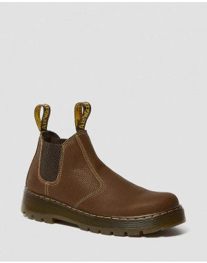 Black Friday Sale Dr. Martens HARDIE CHELSEA WORK BOOTS - WHISKEY PIT QUARTER