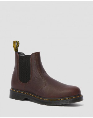 Black Friday Sale Dr. Martens 2976 AMBASSADOR LEATHER CHELSEA BOOTS - CASK AMBASSADOR