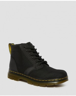 Dr.Martens JUNIOR BONNY EXTRA TOUGH POLY CASUAL BOOTS - BLACK EXTRA TOUGH POLY+RUBBERY - Sale