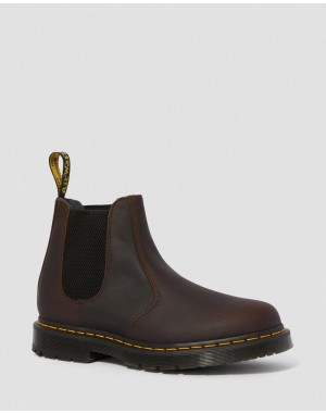 Black Friday Sale Dr. Martens 2976 DM'S WINTERGRIP CHELSEA BOOTS - COCOA SNOWPLOW