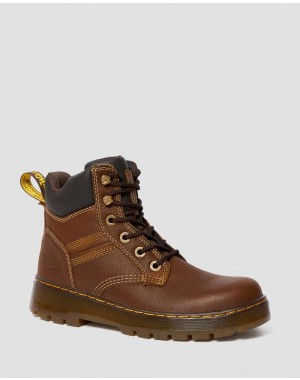 Black Friday Sale Dr. Martens GABION WORK BOOTS - WHISKEY PIT QUARTER
