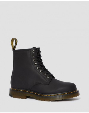 Dr.Martens 1460 DM'S WINTERGRIP LACE UP BOOTS - BLACK SNOWPLOW - Sale