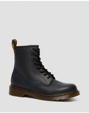 Dr.Martens YOUTH 1460 LEATHER LACE UP BOOTS - NAVY ROMARIO - Sale