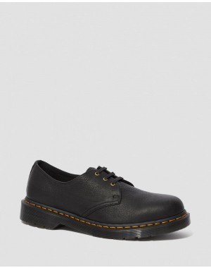 Black Friday Sale Dr. Martens 1461 AMBASSADOR LEATHER OXFORD SHOES - BLACK AMBASSADOR