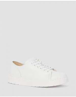Dr.Martens DANTE LEATHER CASUAL SHOES - WHITE VENICE - Sale