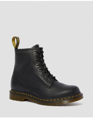 Black Friday Sale Dr. Martens 1460 NAPPA LEATHER LACE UP BOOTS - BLACK NAPPA