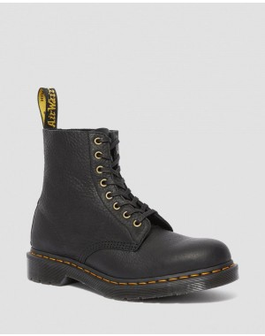 Black Friday Sale Dr. Martens 1460 PASCAL AMBASSADOR LEATHER LACE UP BOOTS - BLACK AMBASSADOR