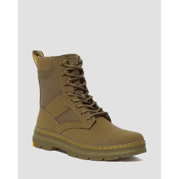 Black Friday Sale Dr. Martens IOWA EXTRA TOUGH POLY CASUAL BOOTS - DMS OLIVE