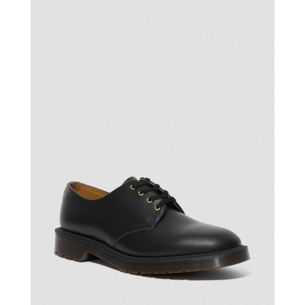 Black Friday Sale Dr. Martens SMITHS VINTAGE SMOOTH LEATHER DRESS SHOES - Black VINTAGE SMOOTH