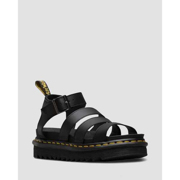 Dr.Martens BLAIRE WOMEN'S HYDRO LEATHER GLADIATOR SANDALS - HYDRO LEATHER - Sale