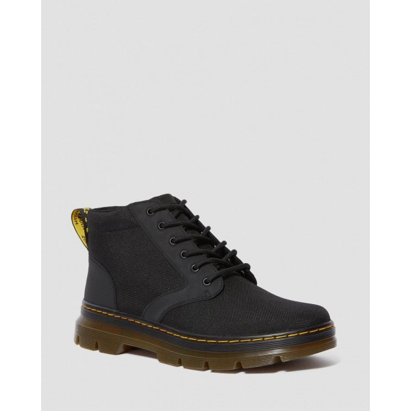 Black Friday Sale Dr. Martens BONNY POLY CASUAL BOOTS - BLACK EXTRA TOUGH POLY+RUBBERY