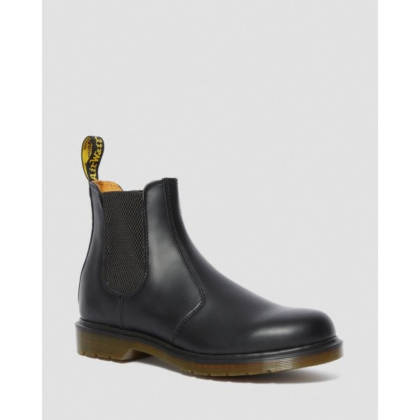 Black Friday Sale Dr. Martens 2976 SMOOTH LEATHER CHELSEA BOOTS - BLACK SMOOTH