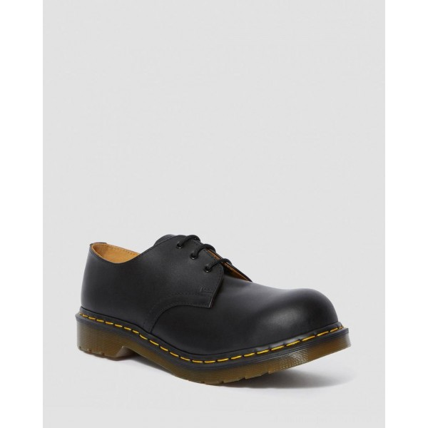 Dr.Martens 1925 LEATHER OXFORD SHOES - BLACK FINE HAIRCELL - Sale
