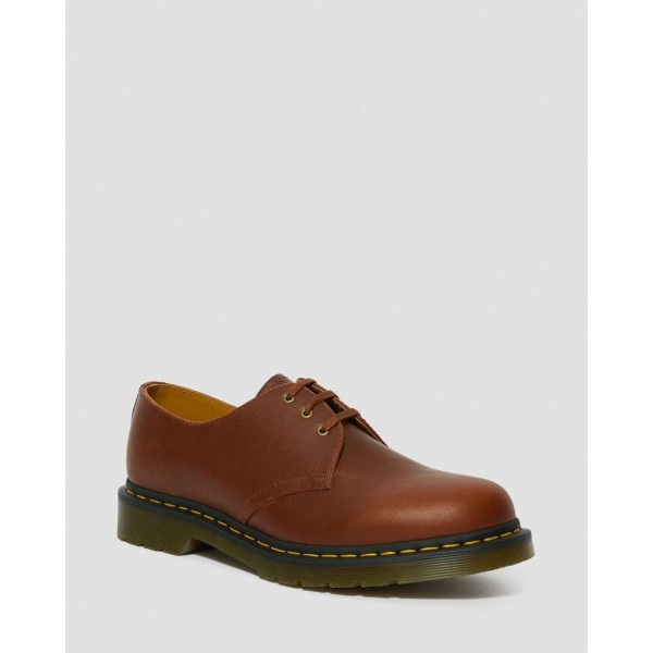 Black Friday Sale Dr. Martens 1461 CLASSICO LEATHER OXFORD SHOES - BROWN CLASSICO