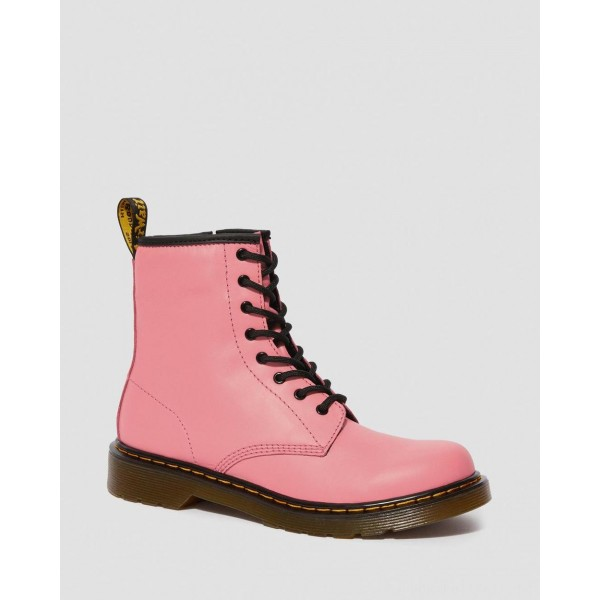 Dr.Martens YOUTH 1460 LEATHER LACE UP BOOTS - ACID PINK ROMARIO - Sale