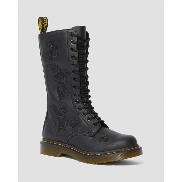 Black Friday Sale Dr. Martens MONO 1914 VONDA - BLACK SOFTY T