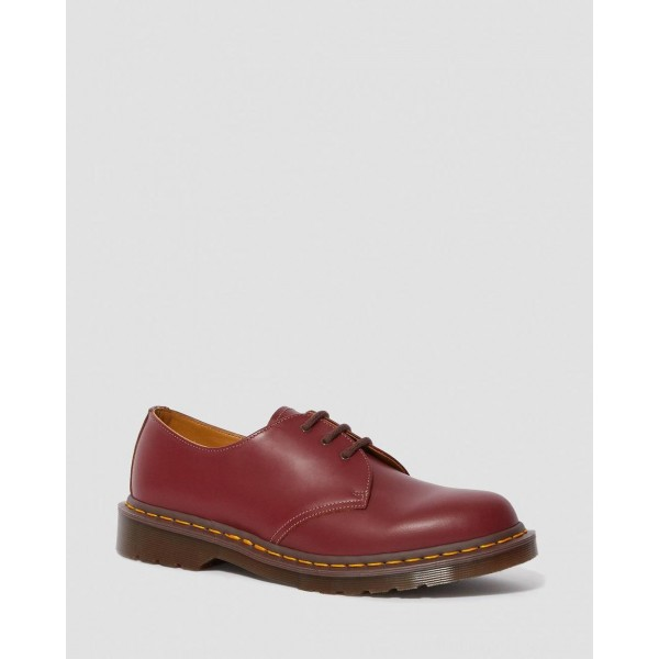 Dr.Martens 1461 VINTAGE MADE IN ENGLAND OXFORD SHOES - OXBLOOD QUILON - Sale
