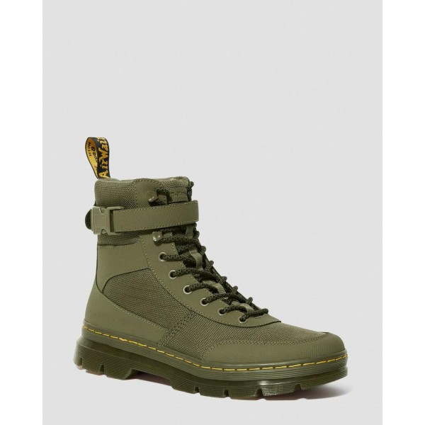 Dr.Martens COMBS TECH EXTRA TOUGH POLY CASUAL BOOTS - DMS OLIVE EXTRA TOUGH POLY+AJAX - Sale