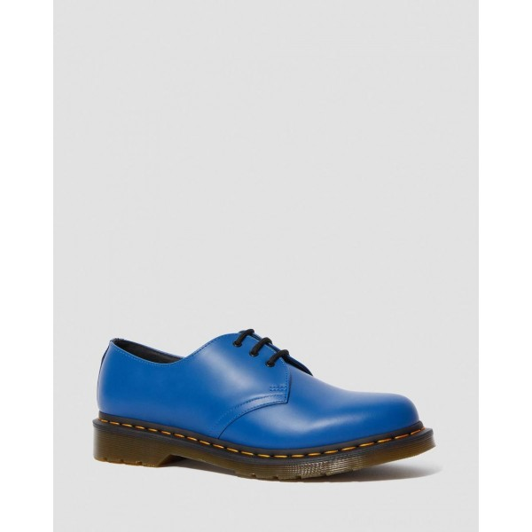 Dr.Martens 1461 SMOOTH LEATHER OXFORD SHOES - BLUE SMOOTH - Sale
