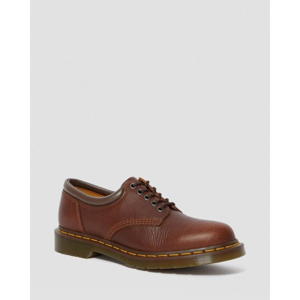 Dr.Martens 8053 HARVEST LEATHER CASUAL SHOES - TAN HARVEST - Sale