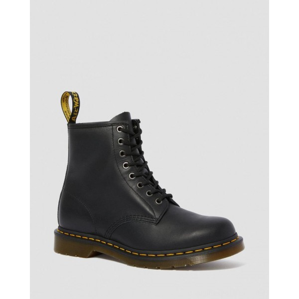 Dr.Martens 1460 NAPPA LEATHER LACE UP BOOTS - BLACK NAPPA - Sale