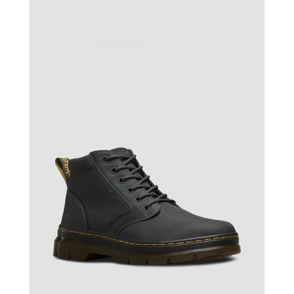 Black Friday Sale Dr. Martens BONNY POLY CASUAL BOOTS - CHARCOAL EXTRA TOUGH POLY+RUBBERY